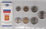 8,66 Rubel ab 1998 Russland Kursmünzensatz priv. Herkunft bis 5 Rubel u... 5,00 EUR  zzgl. 4,50 EUR Versand