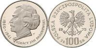 100 Zloty 1973 Polen - Polska - Poland Ignacy Paderewski - Politiker un... 12,00 EUR