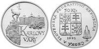 100 Kronen 1991 CSR/CSSR/CSFR - Tschechoslowakei Karlovy Vary - Karlsba... 12,00 EUR  zzgl. 4,50 EUR Versand