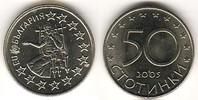 50 Stotinki 2005 Bulgarien - Bulgaria Bulgarien Beginn der Beitrittsver... 2,00 EUR  zzgl. 4,50 EUR Versand