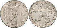 50 Kronen 1948 CSR / CSSR / CSFR - Tschechoslowakei 3. Jahrestag Prager... 9,00 EUR  zzgl. 4,50 EUR Versand
