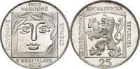 25 Kronen 1970 CSR/ CSSR / CSFR - Tschechoslowakei Slowakisches Nationa... 12,00 EUR  zzgl. 4,50 EUR Versand