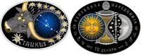 10 Denari 2015 Mazedonien - Macedonia Sternzeichen 'Stier' Taurus PP te... 69,00 EUR  zzgl. 4,50 EUR Versand