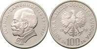 100 Zloty 1979 Polen - Polska - Poland Ludwik Zamenhof - Arzt und Erfin... 12,00 EUR