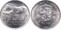 50 Kronen 1987 CSR / CSSR / CSFR - Tschechoslowakei Pferde ( Przewalski... 13,00 EUR  zzgl. 4,50 EUR Versand