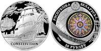 20 RUbel 2010 Belarus Weißrußland Schiffsausgabe USS Constitution Segel... 69,00 EUR