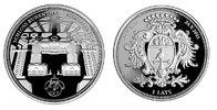 "1 Lats 2011 Lettland Latvija ""Schloß Ruhenthal Rundale – Rundales pils""... 56,00 EUR  zzgl. 4,50 EUR Versand"