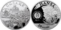 20 Rubel 2011 Belarus Hansestädte Polatzk Polierte Platte PP  69,00 EUR