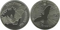 5 Hriwen 2012 Ukraine Fledermaus uncirculated prooflike BU Stgl  15,00 EUR  zzgl. 4,50 EUR Versand
