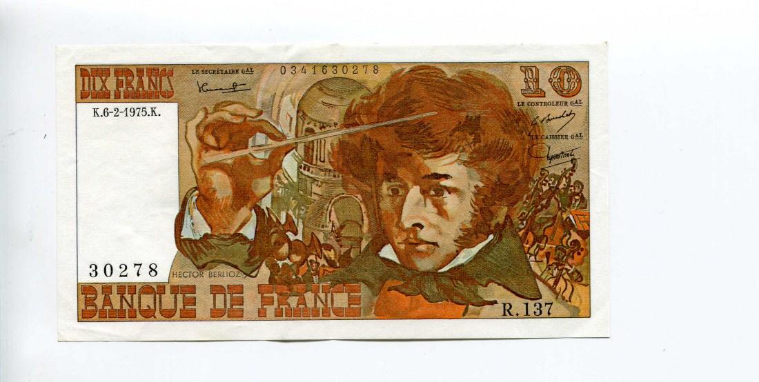 Frankreich, 10 Francs 1975
