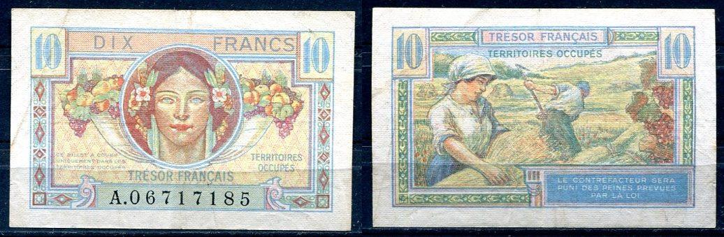 ~ France / dix Francs Frankreich 10 Francs