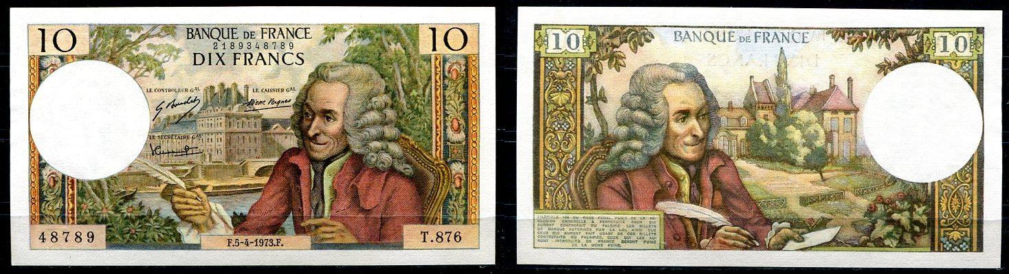~ France / Dix Francs Frankreich 10 Francs 1973