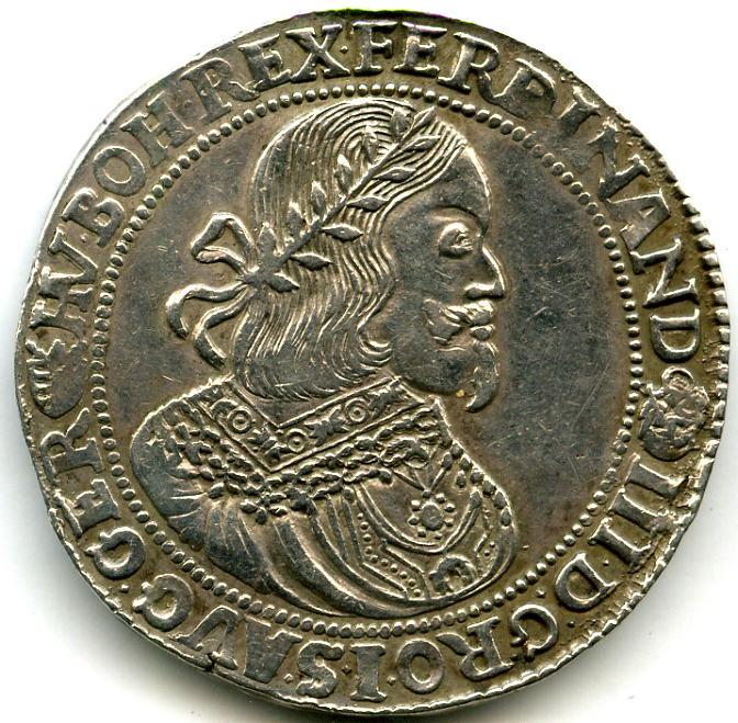 RDR ~ Römisch Deutsches Reich - Kremnitz / Ferdinand III. 1637 - 1657 ~ 1 Taler 1655 KB ~ ss/vz