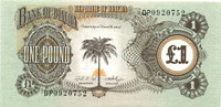 1 Pound (1968/69) Biafra,  Unc  2.28 US$ 2,00 EUR  +  7.97 US$ shipping
