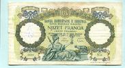20 Franga 1939 Albanien/Albania,  IV  12,00 EUR  zzgl. 5,00 EUR Versand