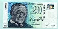 20 Markkaa 1993(1997) Finnland,  I  14,00 EUR  zzgl. 5,00 EUR Versand