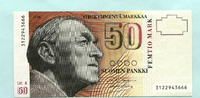 50 Markkaa 1986(1991) Finnland,  I  42,00 EUR  zzgl. 5,00 EUR Versand