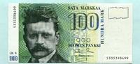 100 Markkaa 1986(1991) Finnland,  I  79,00 EUR  zzgl. 5,00 EUR Versand