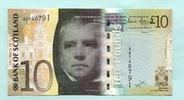 10 Pounds 2007 Schottland,  Unc  29,50 EUR  zzgl. 5,00 EUR Versand