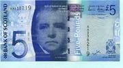 5 Pounds 2007 Schottland,  Unc  17,00 EUR  zzgl. 5,00 EUR Versand