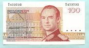 100 Francs (1986) Luxemburg,  I  9,50 EUR  zzgl. 5,00 EUR Versand