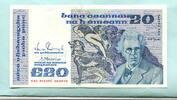 20 Pounds 1990 Irland-Republik,  Unc,  222,00 EUR  zzgl. 5,00 EUR Versand
