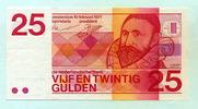 25 Gulden 1971 Niederlande,  I  85,00 EUR  zzgl. 5,00 EUR Versand
