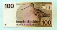 100 Gulden 1977(1981) Niederlande,  I  120,00 EUR  zzgl. 5,00 EUR Versand