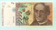 5000 Pesetas 1992(1996) Spanien,  I  80,00 EUR  zzgl. 5,00 EUR Versand