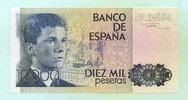 10000 Pesetas 1985(1987) Spanien,  I  195,00 EUR  zzgl. 5,00 EUR Versand