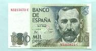 1000 Pesetas 1979(1982) Spanien,  I  18,00 EUR  zzgl. 5,00 EUR Versand