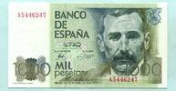 1000 Pesetas 1979(1982) Spanien,  I  25,00 EUR  zzgl. 5,00 EUR Versand