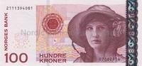 100 Kronor 2004 Norwegen,  I  22,00 EUR  zzgl. 5,00 EUR Versand