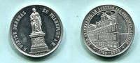 Aluminium Medaille 1899 Frankfurt, 150.Geburtstag von Goethe und Einwei... 35,00 EUR  zzgl. 5,00 EUR Versand
