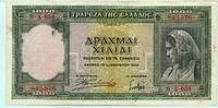 1000 Drachmai 1939 Griechenland,  III  4.40 US$ 4,00 EUR  +  7.70 US$ shipping