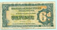 6 Pence (1948) Großbritannien, 'British Armed Forces' gebraucht ... 6.60 US$ 6,00 EUR  +  7.70 US$ shipping