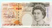 10 Pounds (1993-98) Großbritannien,  II  32.44 US$ 29,50 EUR  +  7.70 US$ shipping