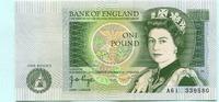 1 Pound (1978-80) Großbritannien,  Unc  10.45 US$ 9,50 EUR  +  7.70 US$ shipping