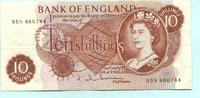 10 Schillings (1962-66) Großbritannien,  III  7.70 US$ 7,00 EUR  +  7.70 US$ shipping