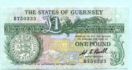 1 Pound (1980-89) Guernsey  Unc  13.19 US$ 12,00 EUR  +  7.70 US$ shipping