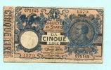 5 Lire 1904 Italien,  III  29.69 US$ 27,00 EUR  +  7.70 US$ shipping