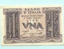 1 Lira 1939 Italien,  I-II  13.19 US$ 12,00 EUR  +  7.70 US$ shipping