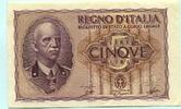 5 Lire 1940 Italien,  II  36.28 US$ 33,00 EUR  +  7.70 US$ shipping