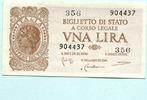 1 Lira 1944 Italien,  II  7.70 US$ 7,00 EUR  +  7.70 US$ shipping