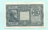10 Lire 1944 Italien,  II  6.60 US$ 6,00 EUR  +  7.70 US$ shipping