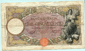 500 Lire 1940 Italien,  IV  93.46 US$ 85,00 EUR  +  7.70 US$ shipping
