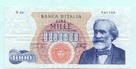 1000 Lire 1966 Italien,  III  32.98 US$ 30,00 EUR  +  7.70 US$ shipping