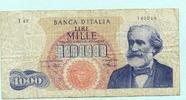 1000 Lire 1968 Italien,  III-IV  24.19 US$ 22,00 EUR  +  7.70 US$ shipping