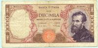 10000 Lire 1968 Italien,  IV  14.29 US$ 13,00 EUR  +  7.70 US$ shipping