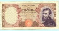 10000 Lire 1970 Italien,  III-  13.19 US$ 12,00 EUR  +  7.70 US$ shipping